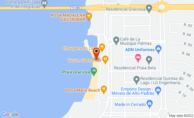Praia da Graciosa Palmas TO