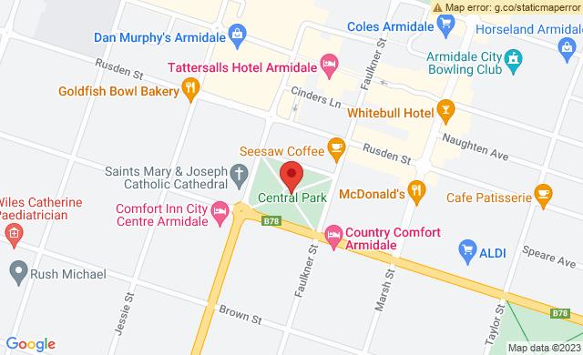 Central Park, Dangar Street, Armidale, New South Wales