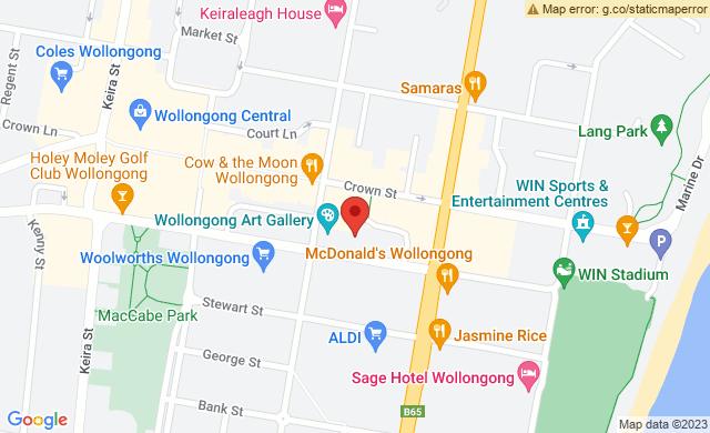 The Arts Precinct, Burelli Street, Wollongong NSW