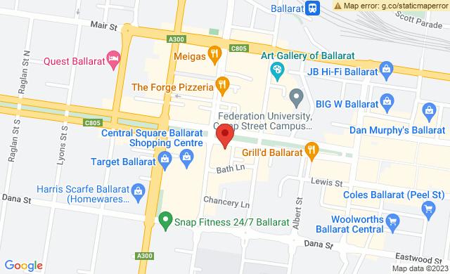 Sturt Street opposite Town Hall Ballarat Victoria 3350