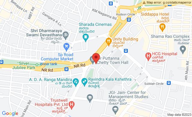 Jayachamaraja Road, Sampangi Rama Nagar, Bengaluru, Karnataka 560002, India