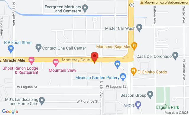 505 West Miracle Mile Tucson Arizona 85705