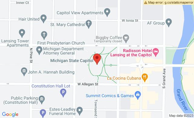 Michigan State Capitol, North Capitol Avenue, Lansing, MI, USA