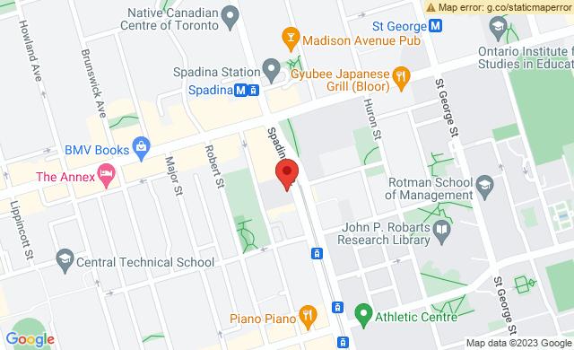 720 Spadina Ave, Toronto, ON M5S 2T9, Canada