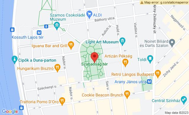 Budapest, Szabadság tér, 1054 Magyarország