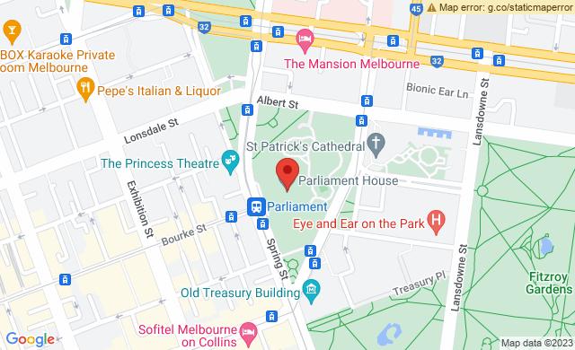 Parliament House, Spring St, East Melbourne VIC