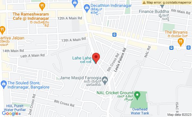 No. 2906, 2907, HAL 2nd Stage, Kodihalli, Bengaluru, Karnataka 560008, India