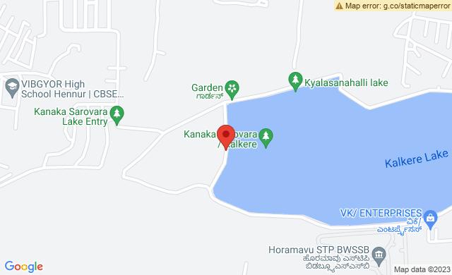 Kalkere Lake, Bengaluru, Karnataka