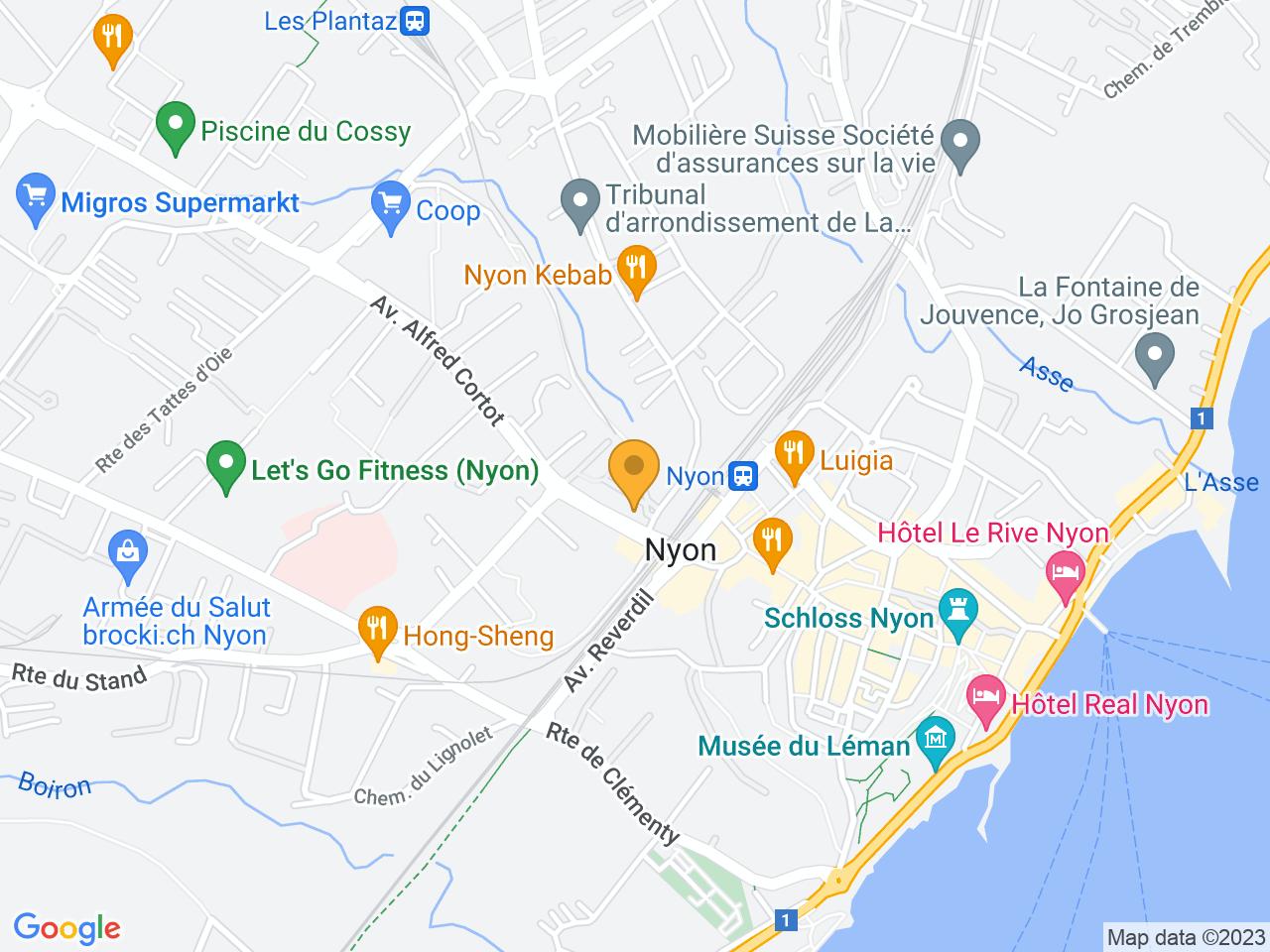 Rue de la Morâche 9, 1260 Nyon