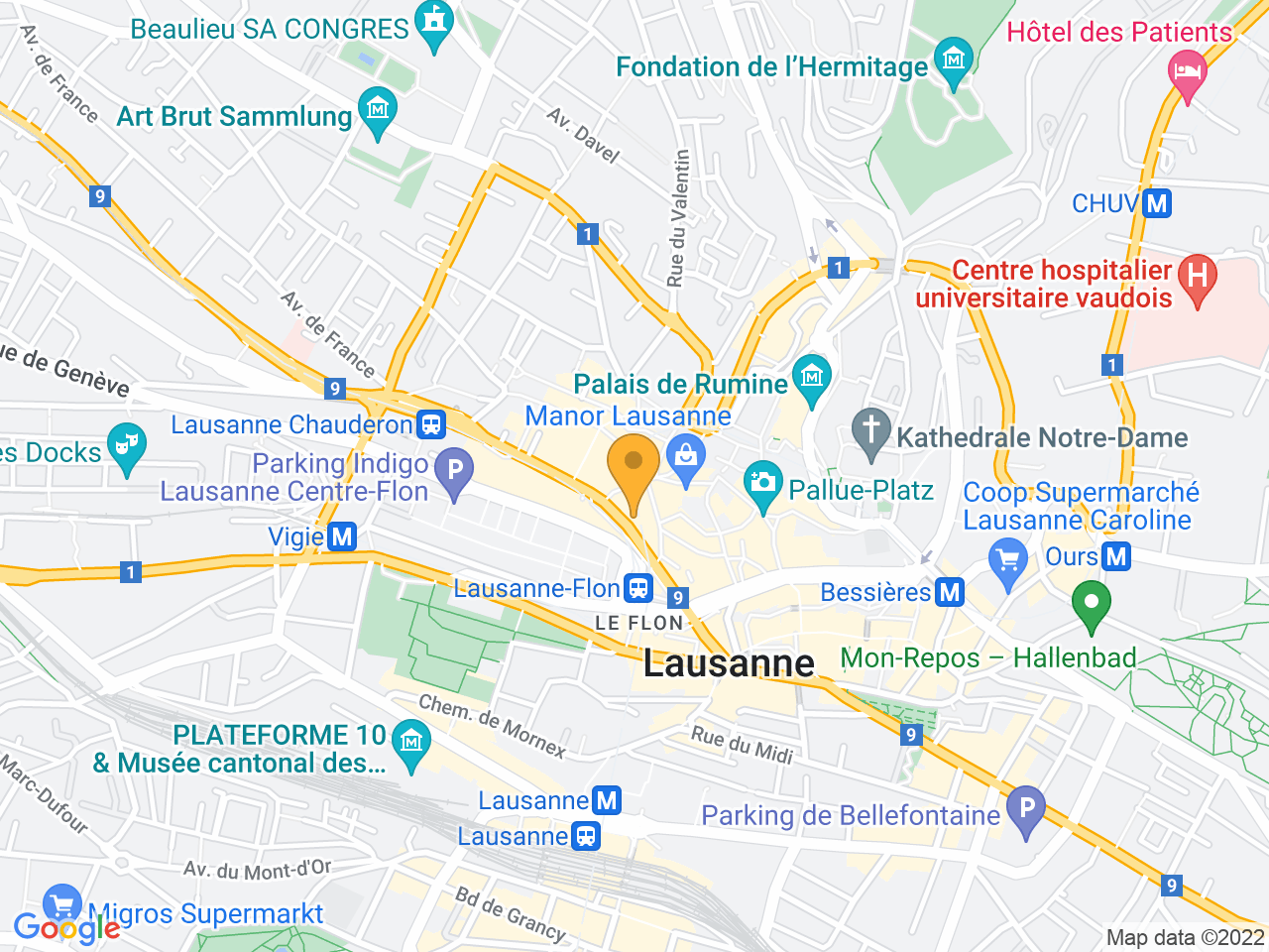 Rue du Grand-Pont 12, 1003 Lausanne
