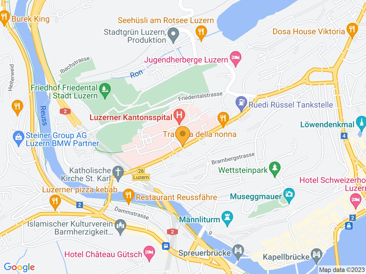 Spitalstrasse, 6004 Luzern