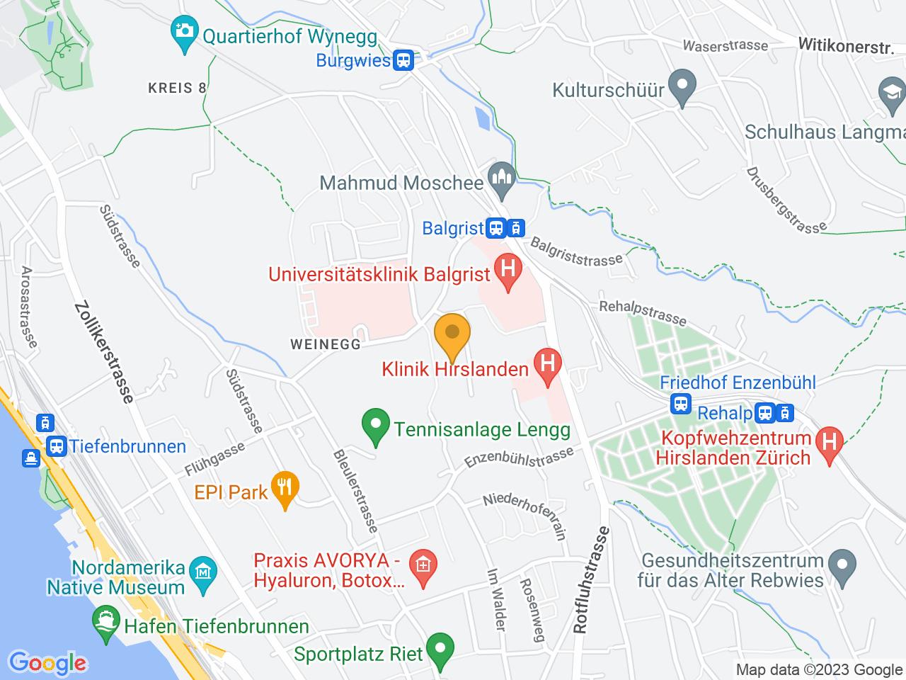Lengghalde 2, 8008 Zürich