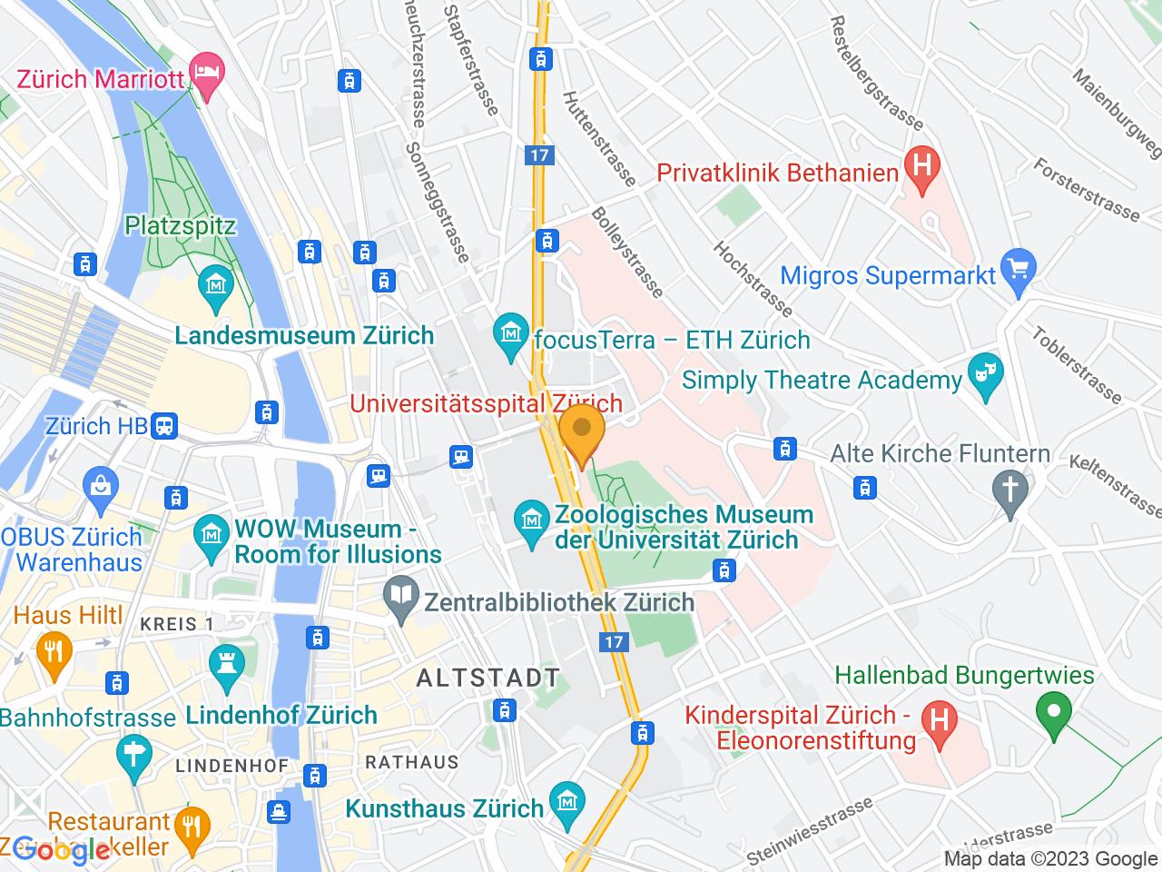Rämistrasse 100, 8091 Zürich