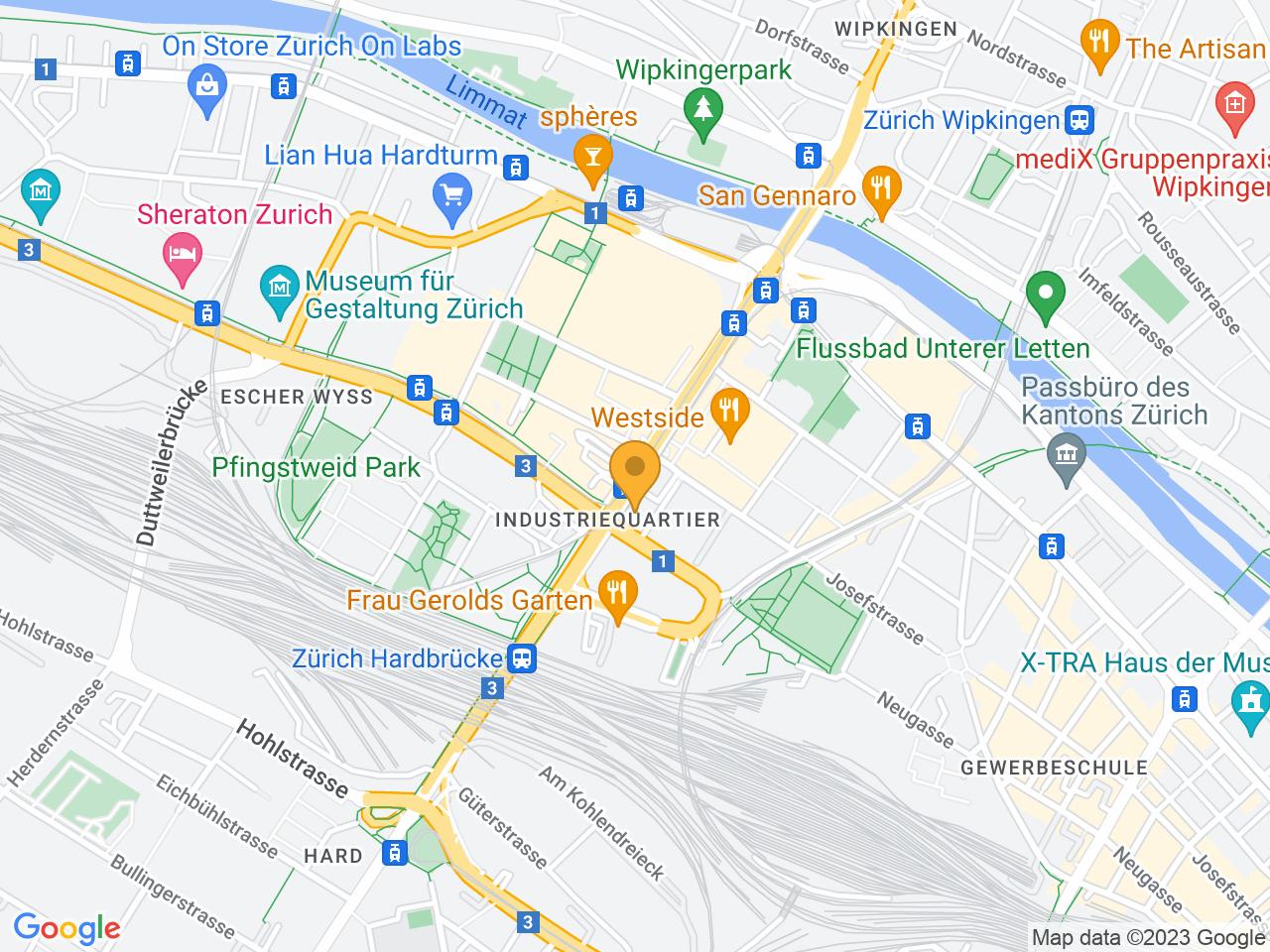 Hardstrasse 235, 8005 Zürich
