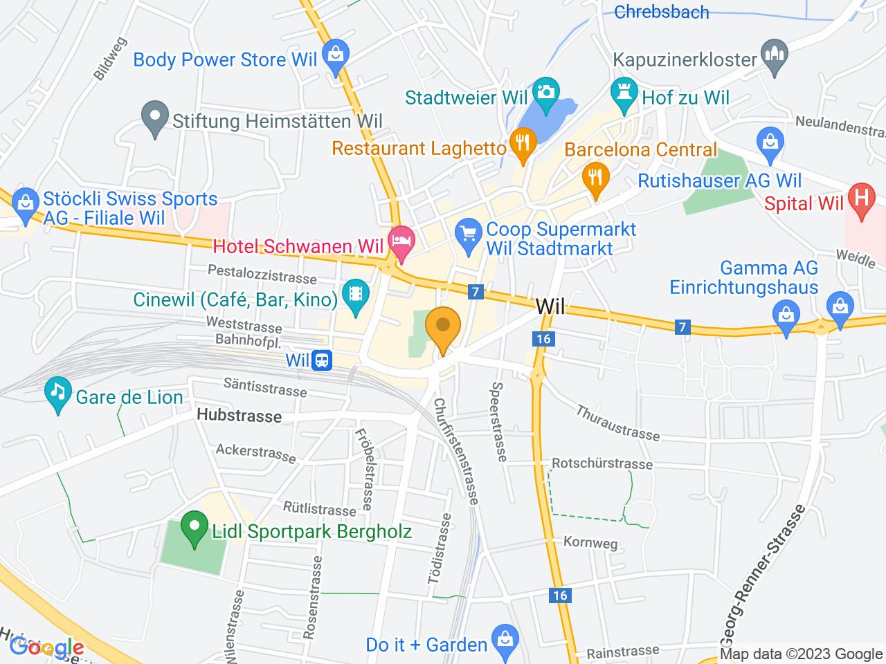 Untere Bahnhofstrasse 16, 9500 Wil