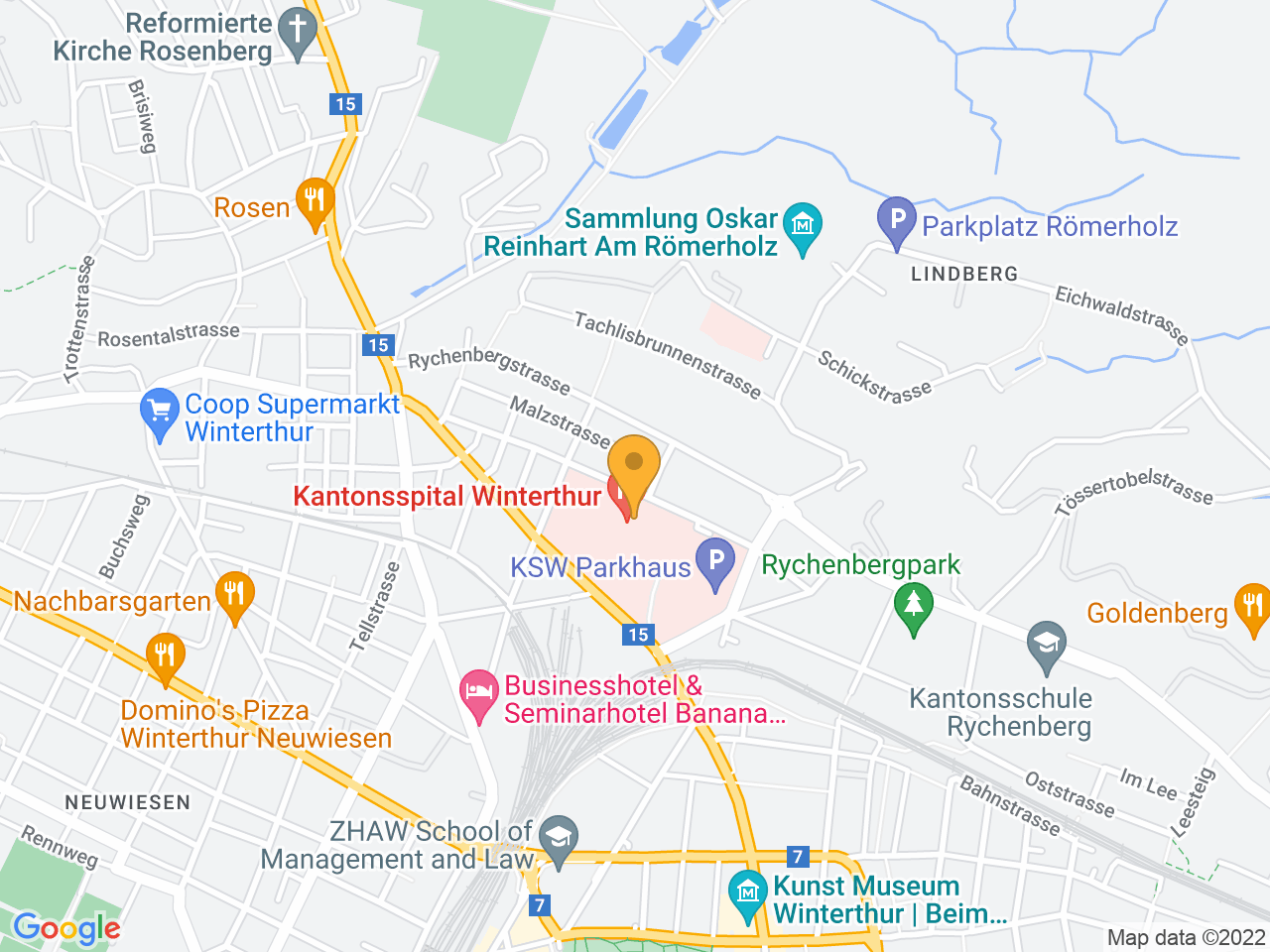 Brauerstrasse 15, 8400 Winterthur