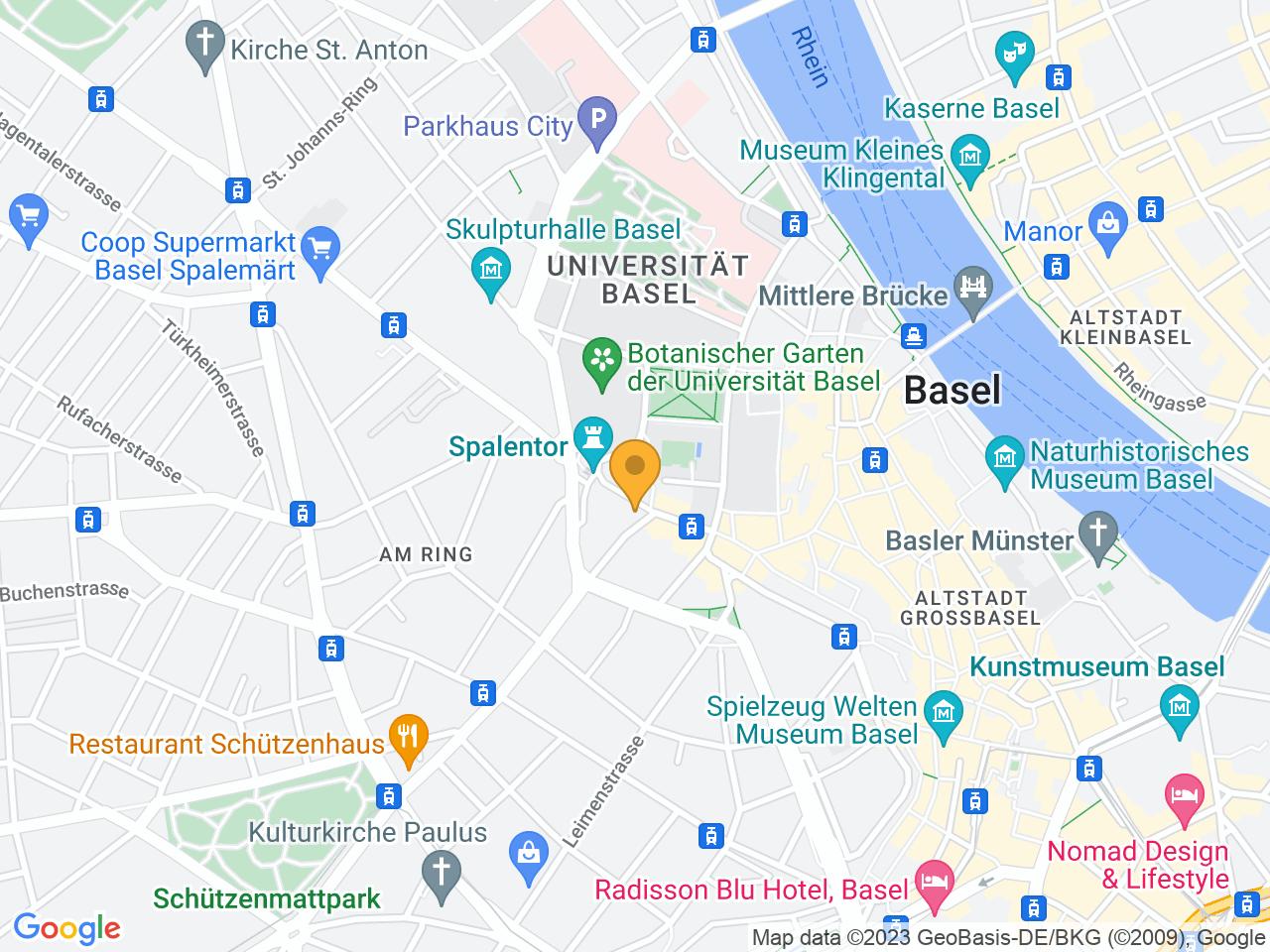 Spalenvorstadt 19, 4051 Basel