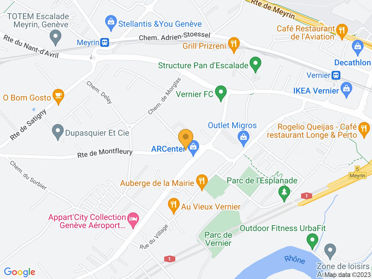 Route de Montfleury 3, 1214 Vernier