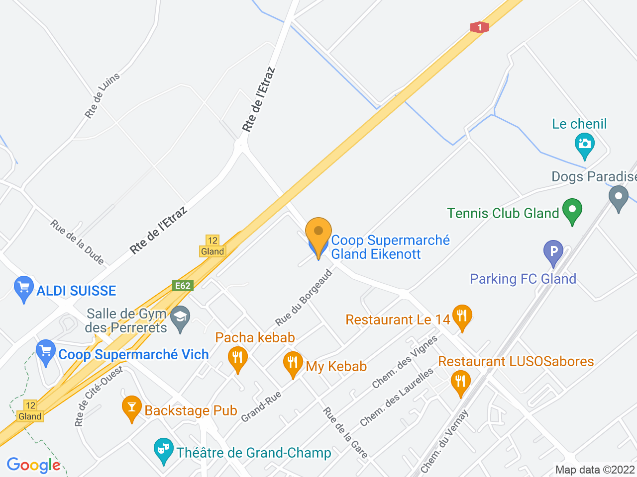 Allée du Communet 20, 1196 Gland