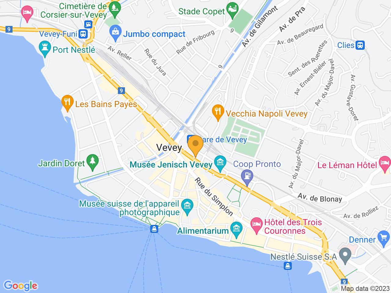 Avenue de la Gare 16, 1800 Vevey