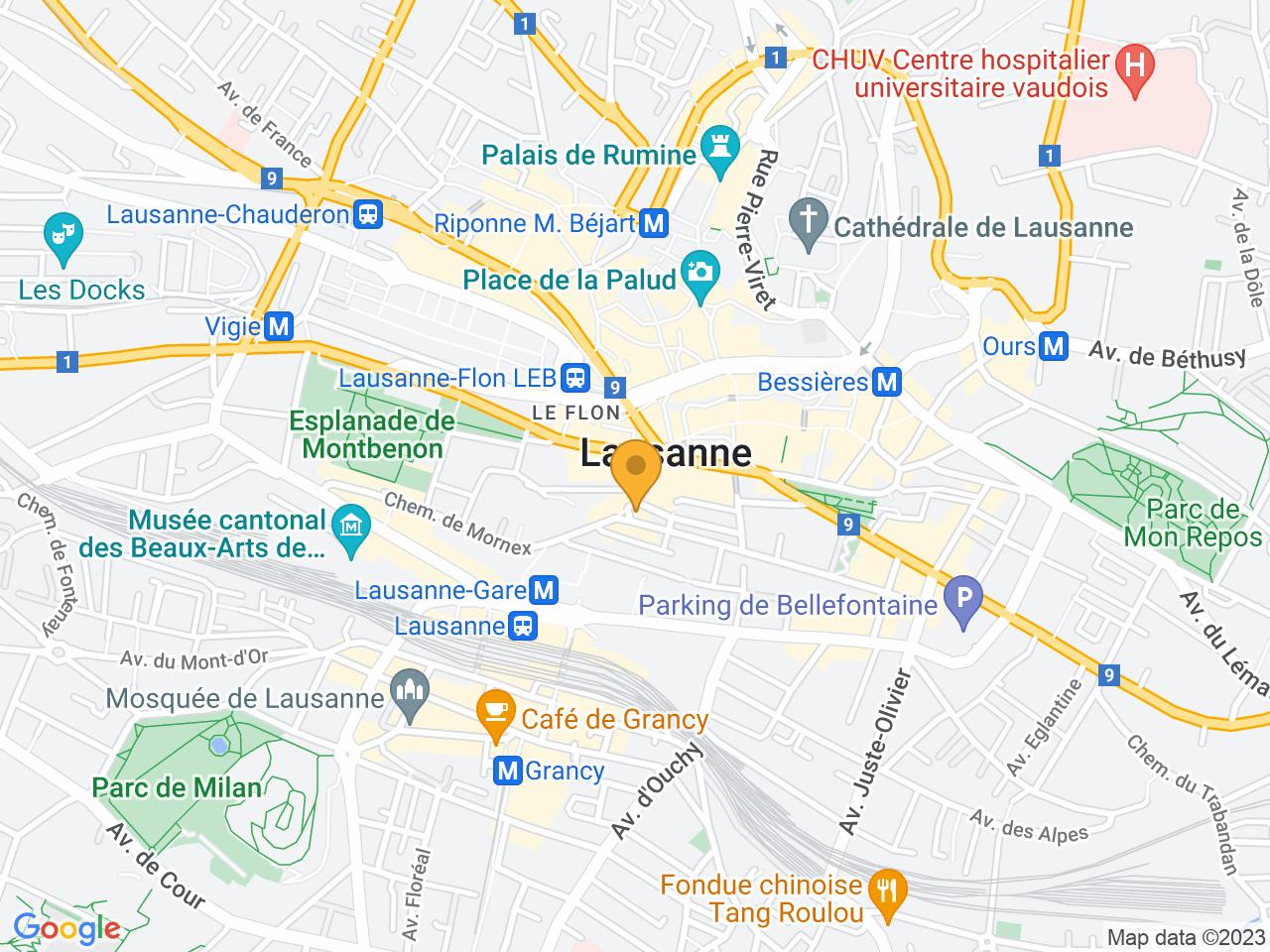 Rue du Midi 2, 1003 Lausanne