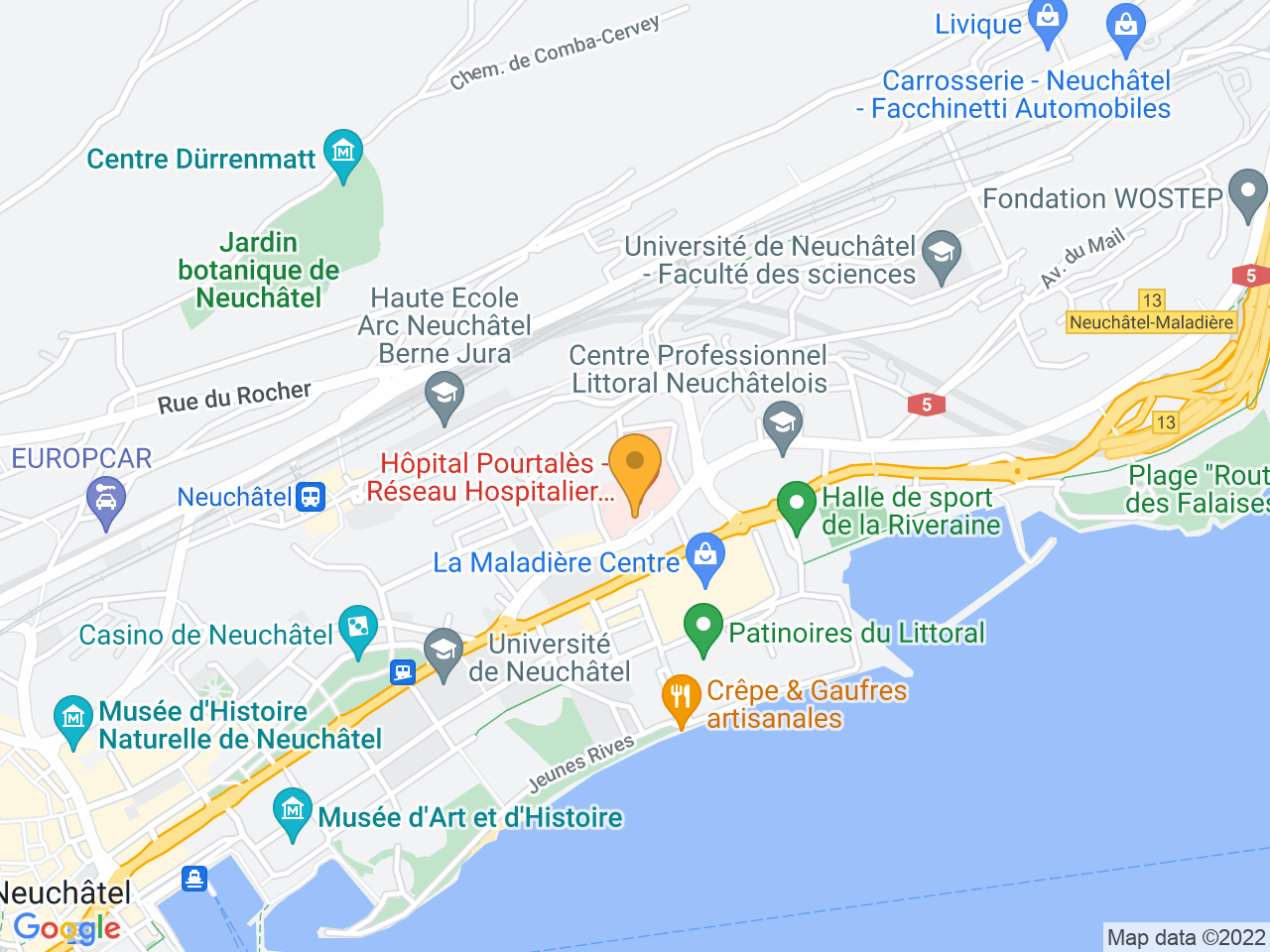 Rue de la Maladière 45, 2000 Neuchâtel