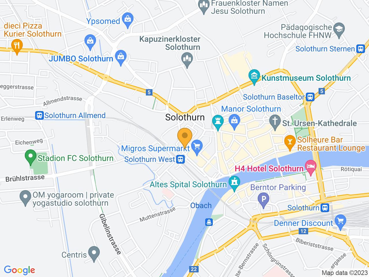 Westbahnhofstrasse 1, 4500 Solothurn