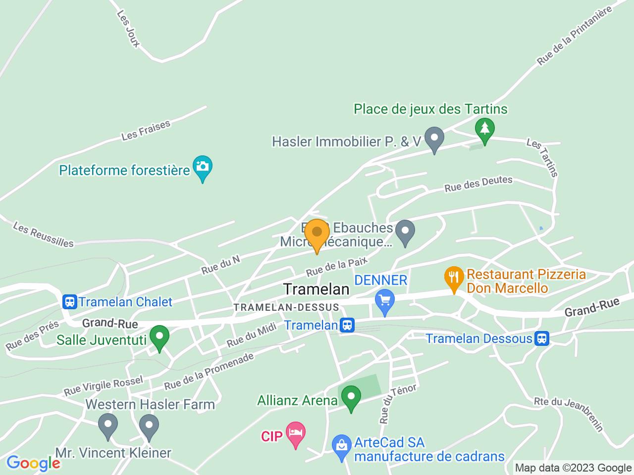 Ruelle du Printemps 33, 2720 Tramelan
