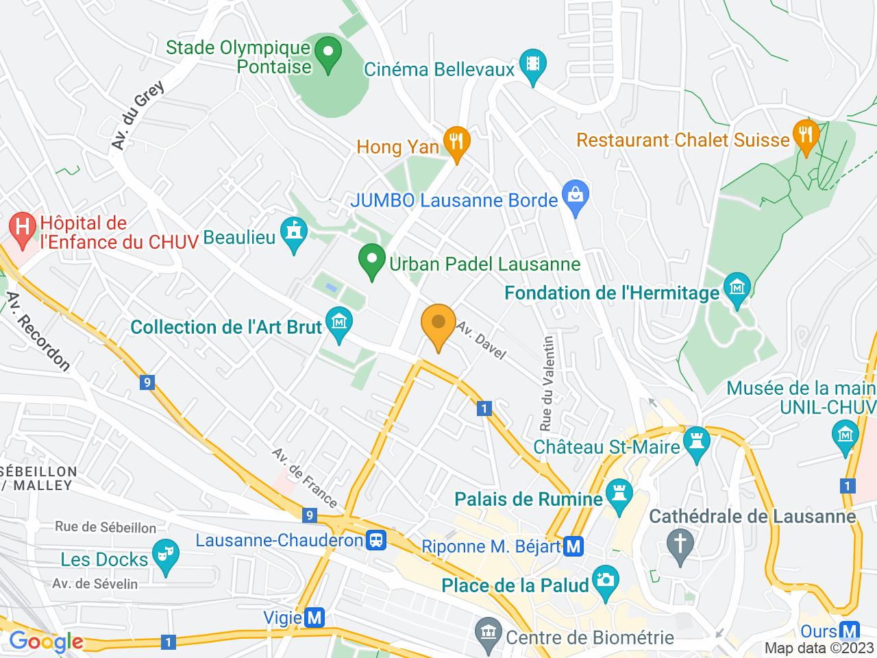 Avenue Alexandre-Vinet 30, 1004 Lausanne