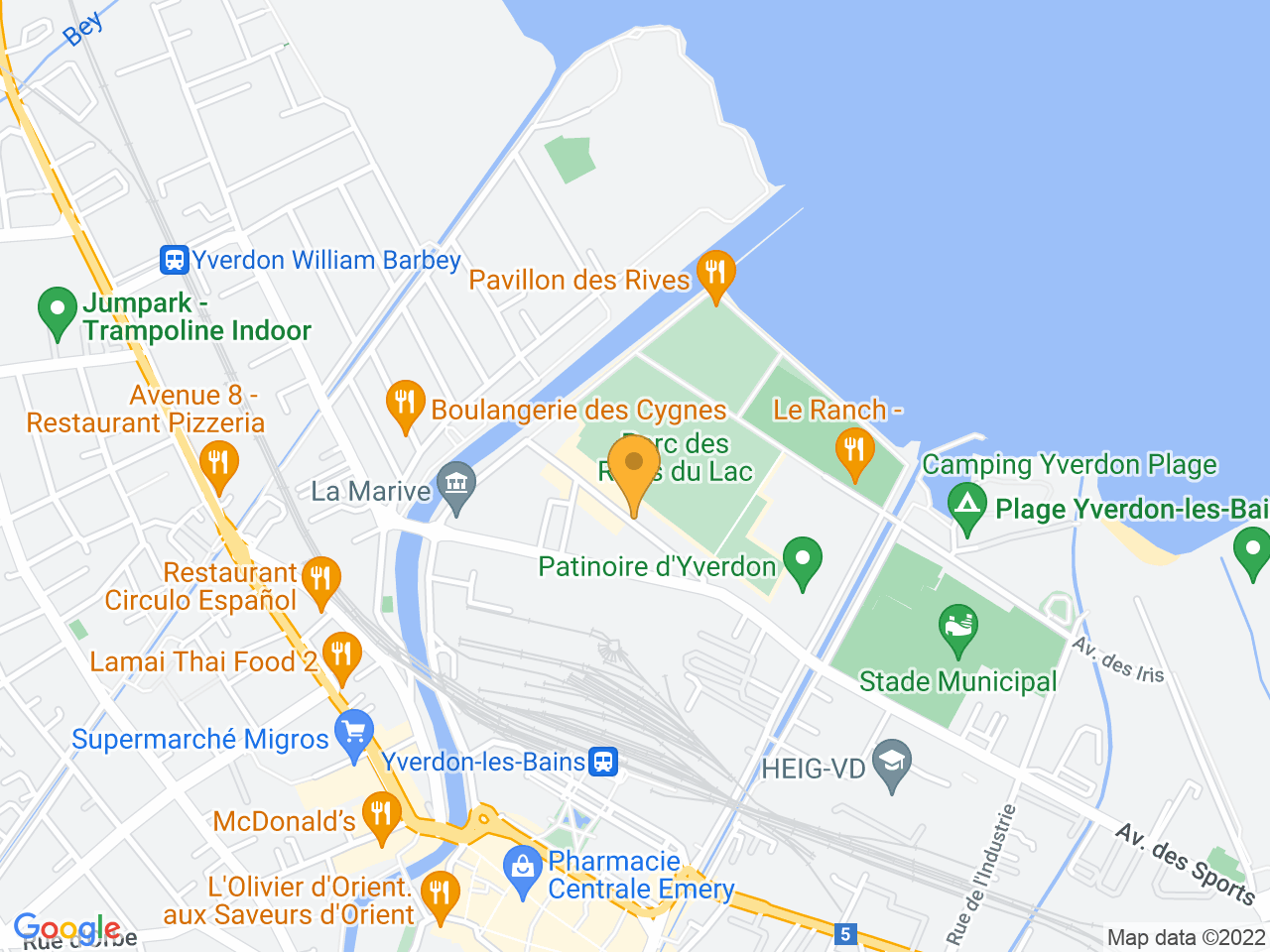 Avenue de l'Hippodrome 3, 1400 Yverdon-les-Bains