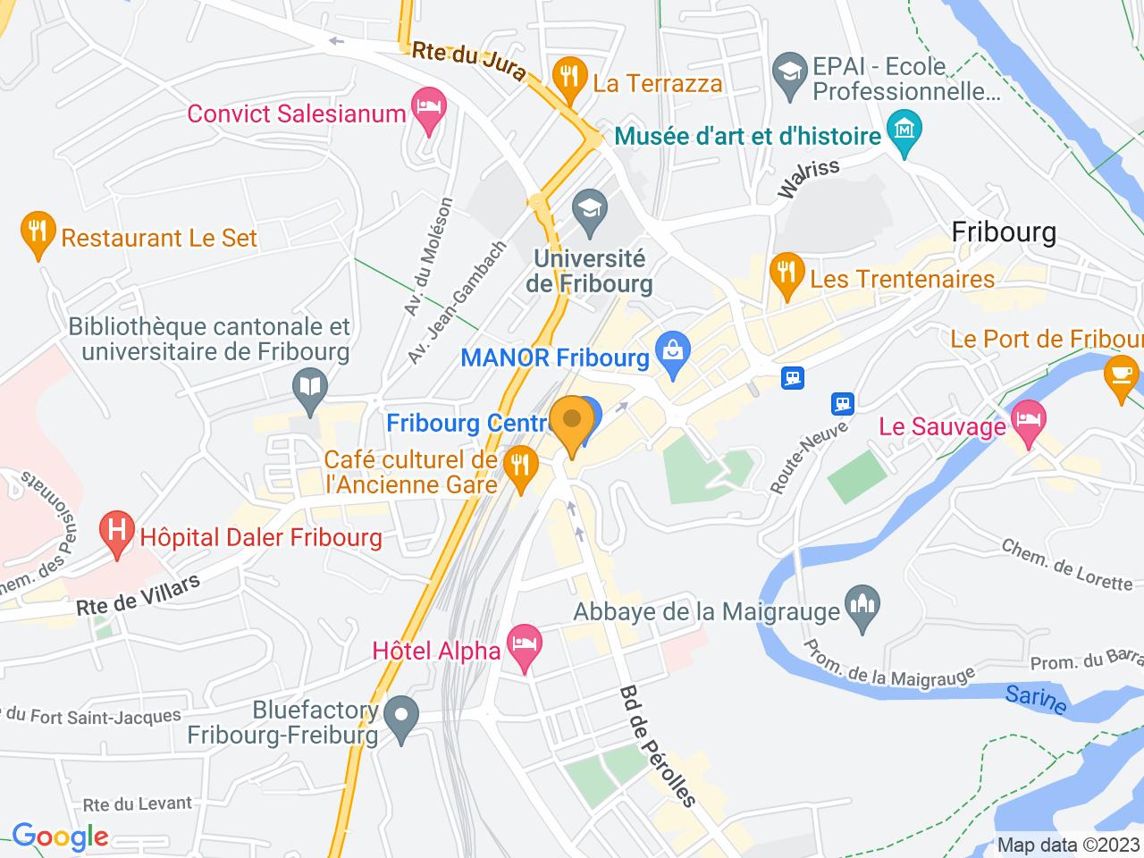Avenue de la Gare 4, 1700 Fribourg