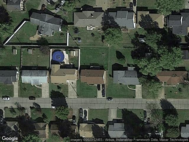 1231 Cardinal Drive Mount Vernon, IN 47620 Satellite View