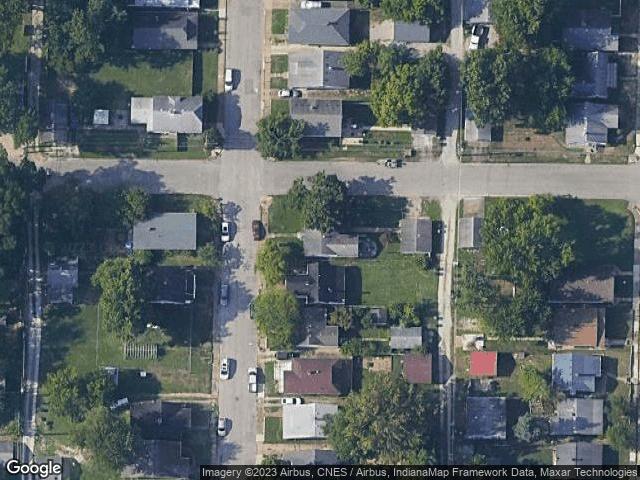 1300 HENNING Avenue Evansville, IN 47714 Satellite View