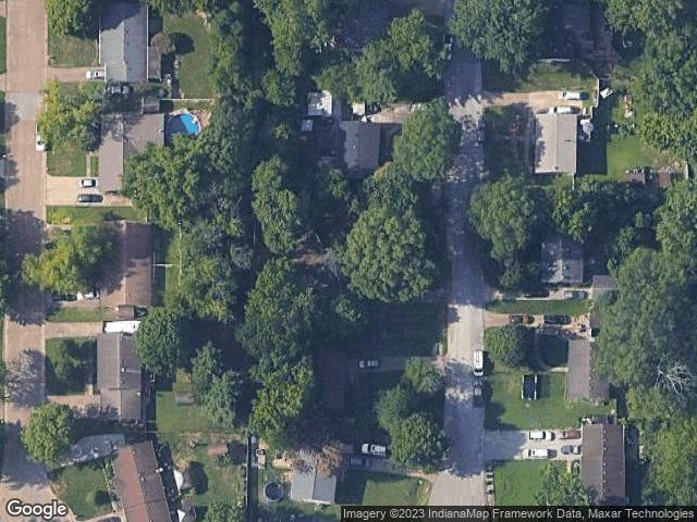 5099 Jamestown Drive Newburgh, IN 47630 Satellite View