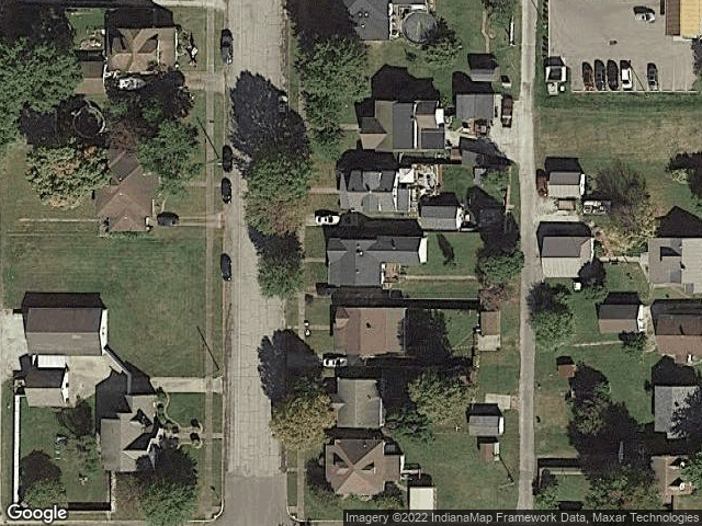 1418 9th Street Tell City, IN 47586 Satellite View