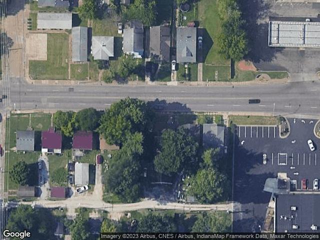 1129 Washington Avenue Evansville, IN 47711 Satellite View