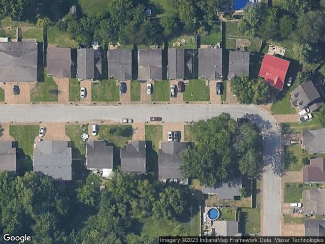 8005 Alexandra Lane Newburgh, IN 47630 Satellite View