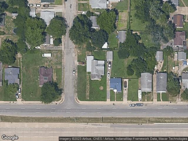 1722 E Division Street Evansville, IN 47711 Satellite View