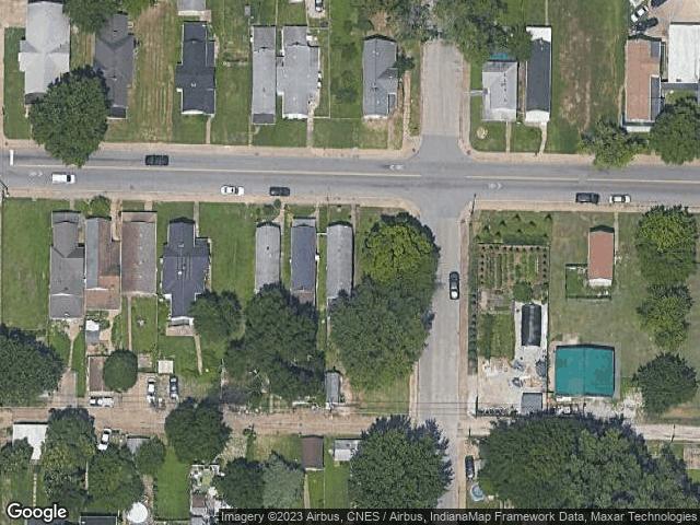419 E Virginia Street Evansville, IN 47711 Satellite View