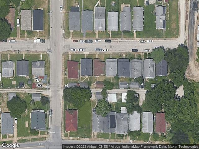805 E Iowa Street Evansville, IN 47711 Satellite View