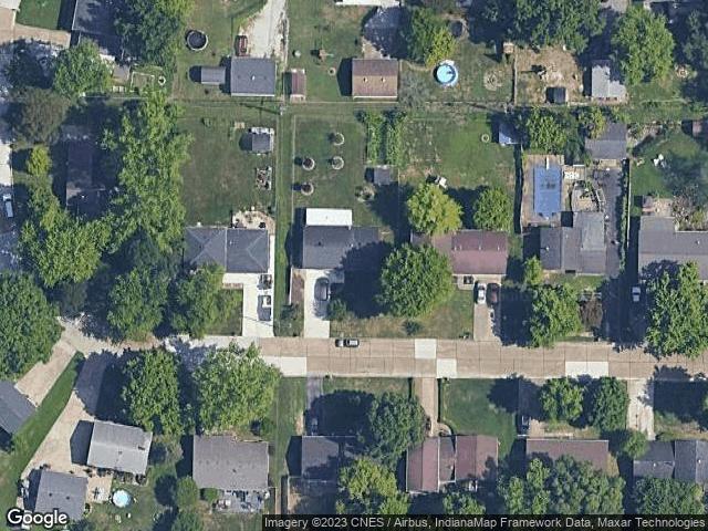 2908 Eastbrooke Drive Evansville, IN 47711 Satellite View