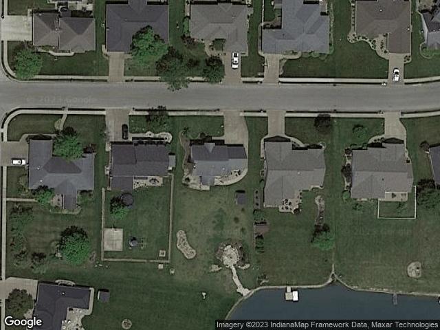 3827 Cobblefield Drive Evansville, IN 47711 Satellite View