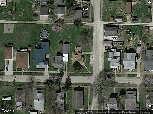 402 W 5th Street Bicknell, IN 47512 Satellite View