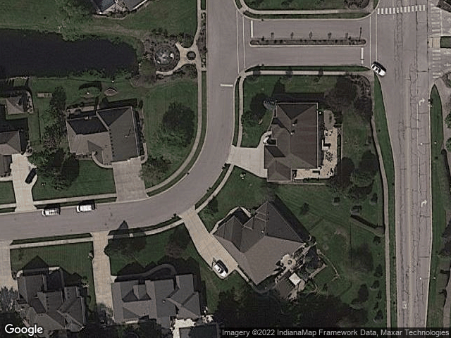 703 Willow Pointe S Dr Plainfield, IN 46168 Satellite View