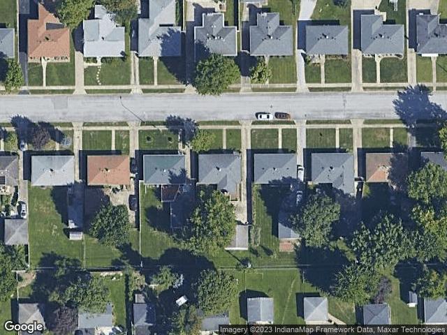 5537 Maplewood Drive Speedway, IN 46224 Satellite View