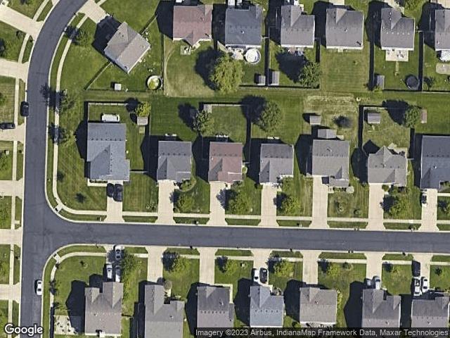 6854 W Philadelphia Drive McCordsville, IN 46055 Satellite View