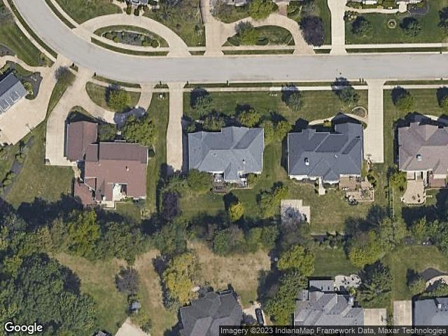 1013 Deer Lake Drive Carmel, IN 46032 Satellite View