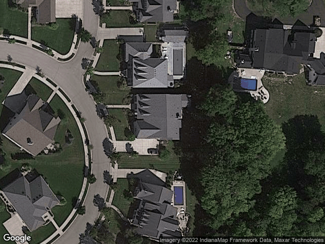 5518 Grandin Hall Cir N Carmel, IN 46033 Satellite View
