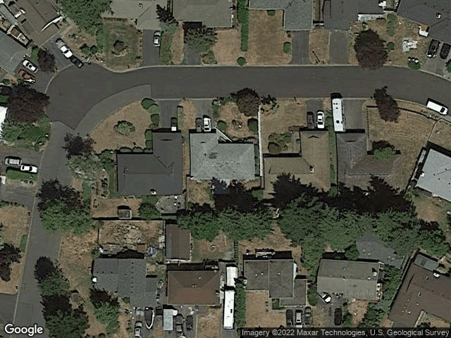 3321 S 252nd Place Kent, WA 98032 Satellite View