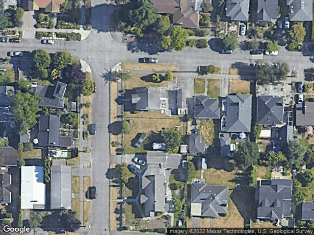 8004 39th Ave SW Seattle, WA 98136 Satellite View